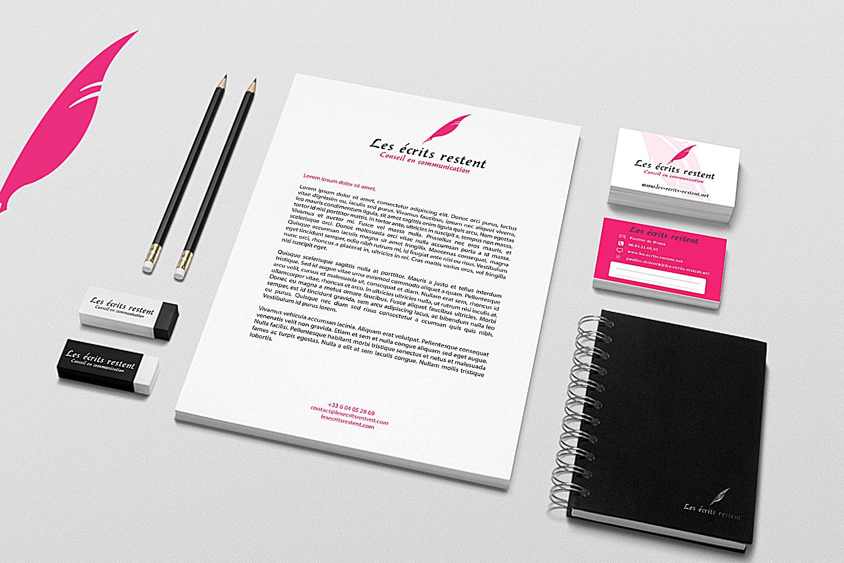<span>Création web, Print</span>Les Ecrits Restent