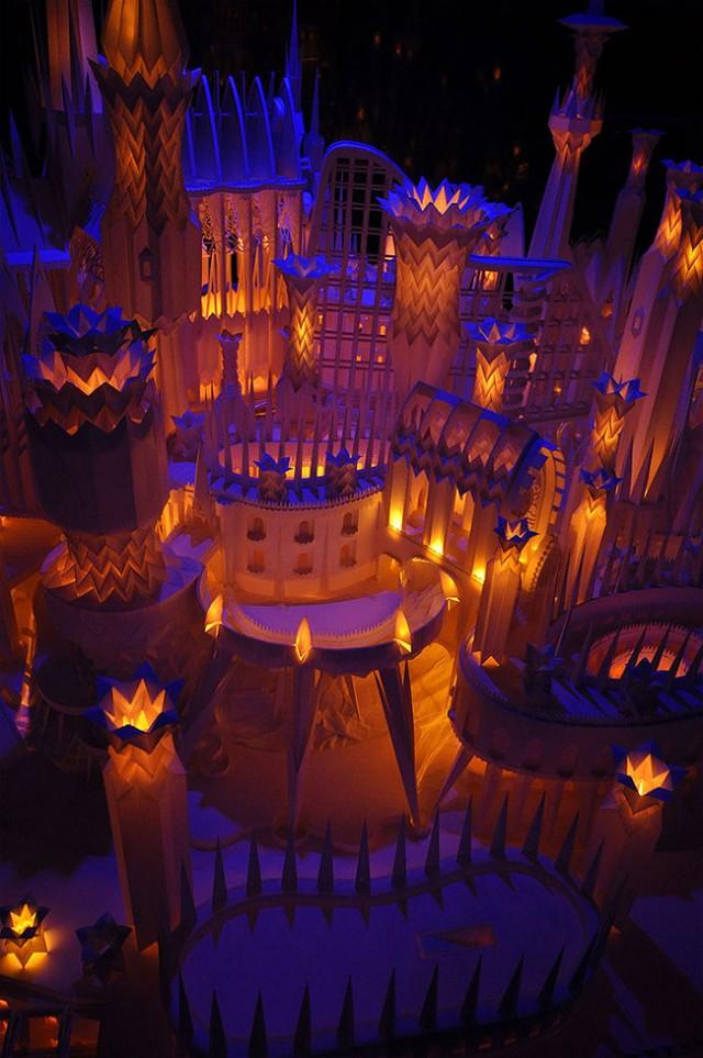 Un château en papier