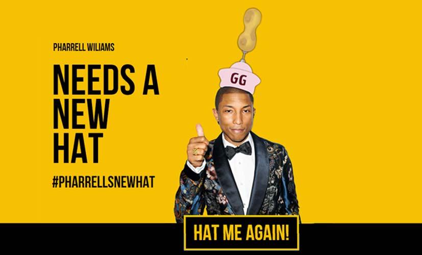 Pharrell Hat Me