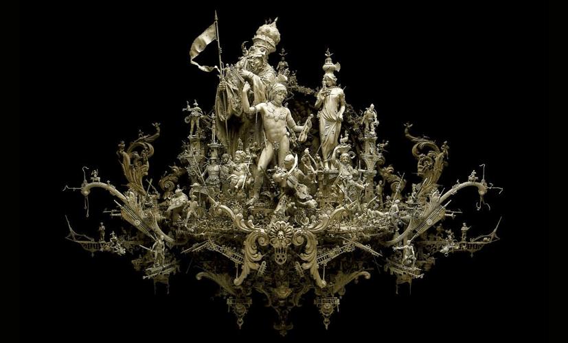 Les sculptures de Kris Kuksi
