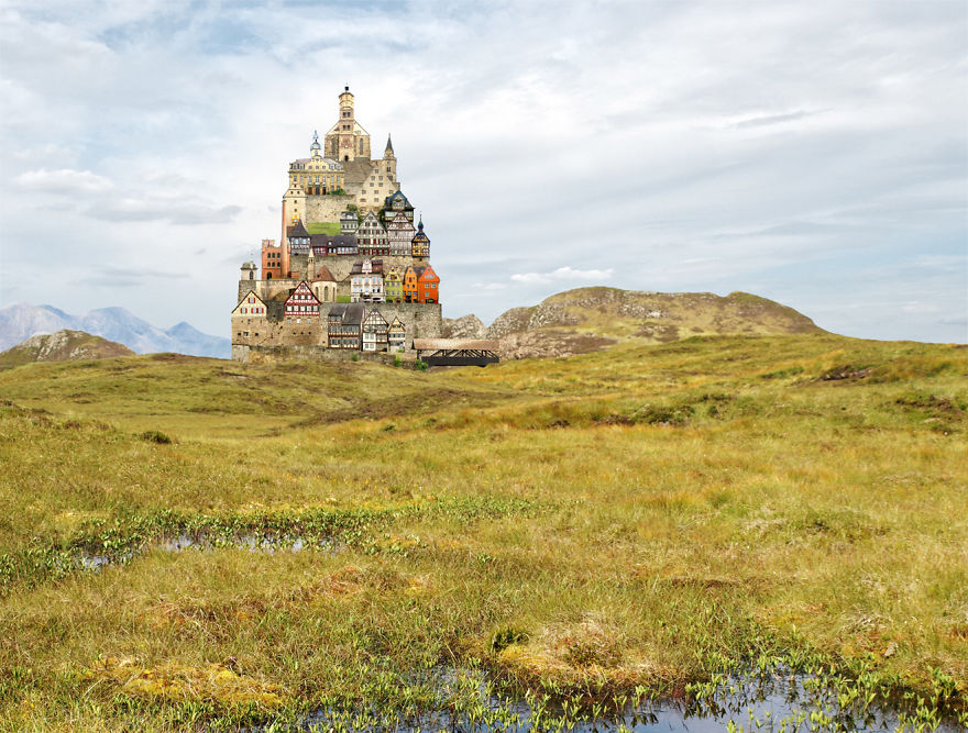 Photomontage et architecture de Matthias Jung