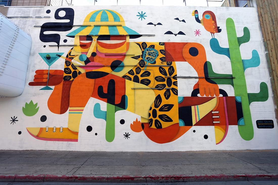 Les nouvelles peintures et installations murales de l'année 2015
