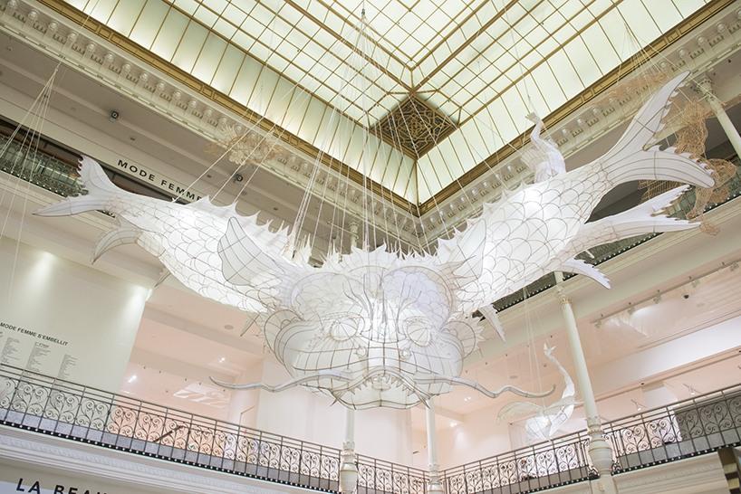 Ai WeiWei expose au Bon Marché de Paris