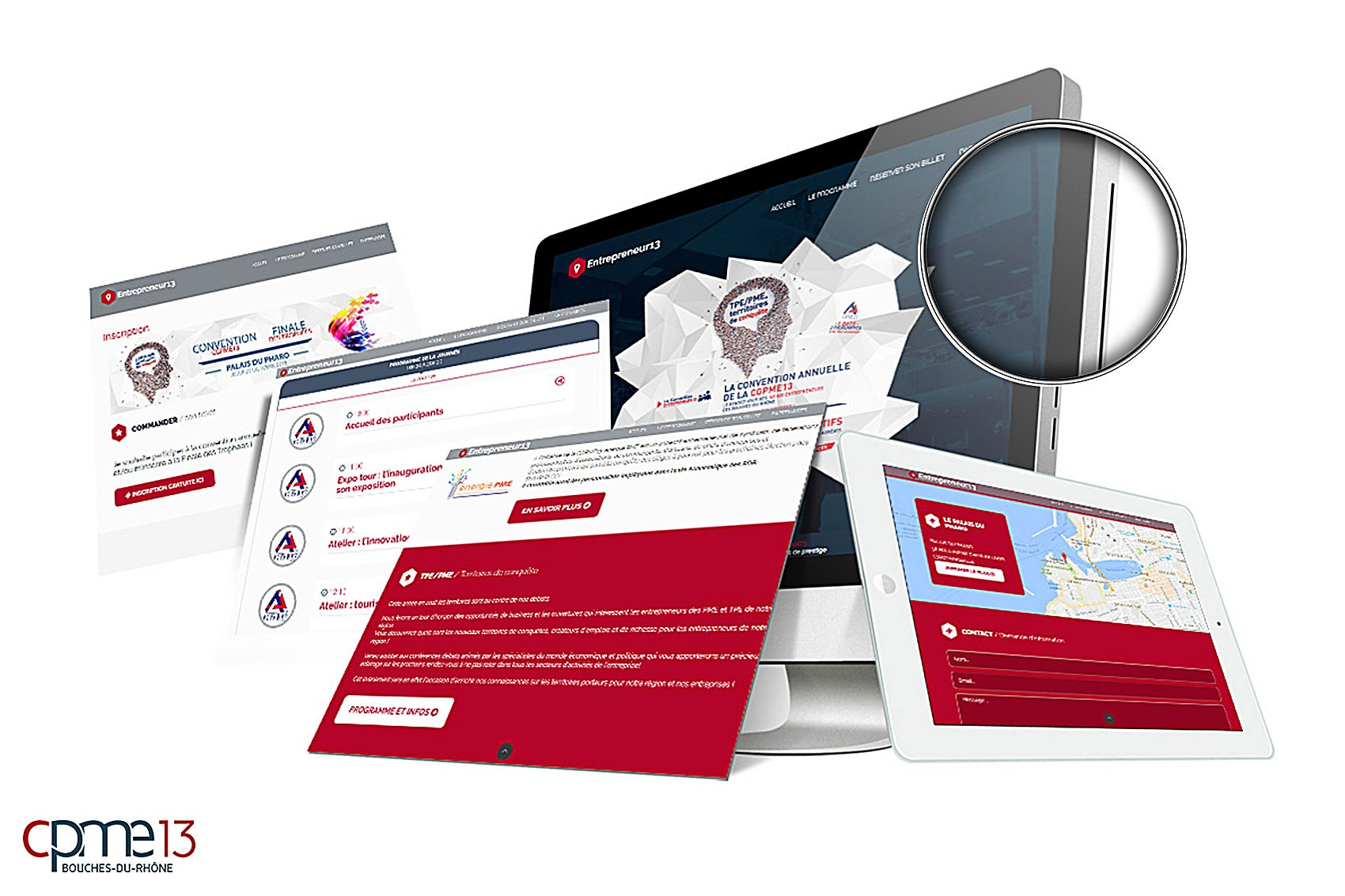 <span>Création web</span>CPME13 Entrepreneur13