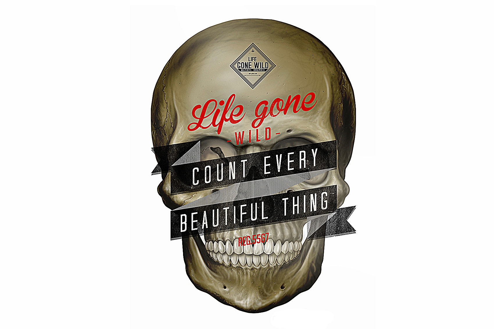 Illustration crane de la marque Life Gone Wild