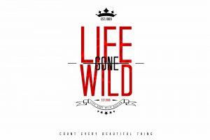 Illustration de texte de la marque Life Gone Wild