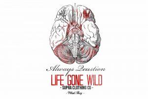 Illustration cerveau de la marque Life Gone Wild