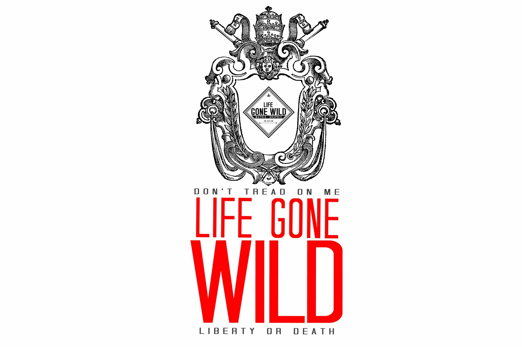 Illustration de la marque Life Gone Wild