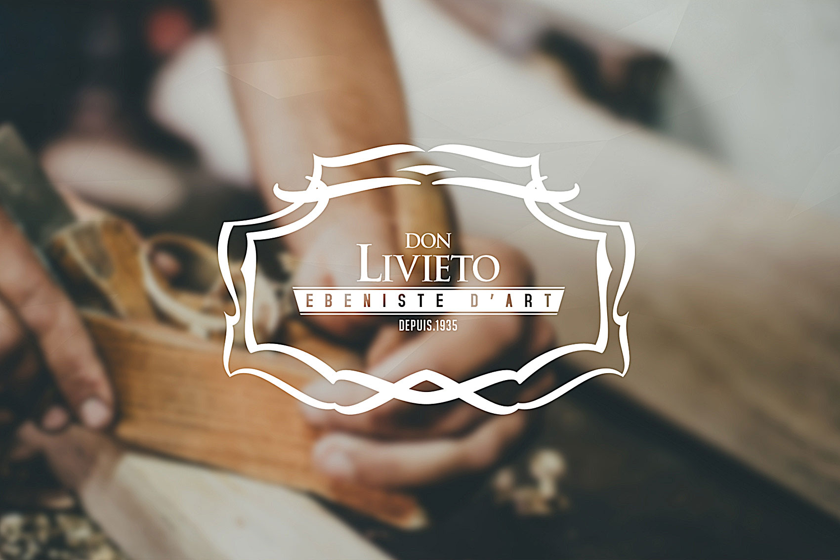 Création logo et charte graphique logo Don Livieto