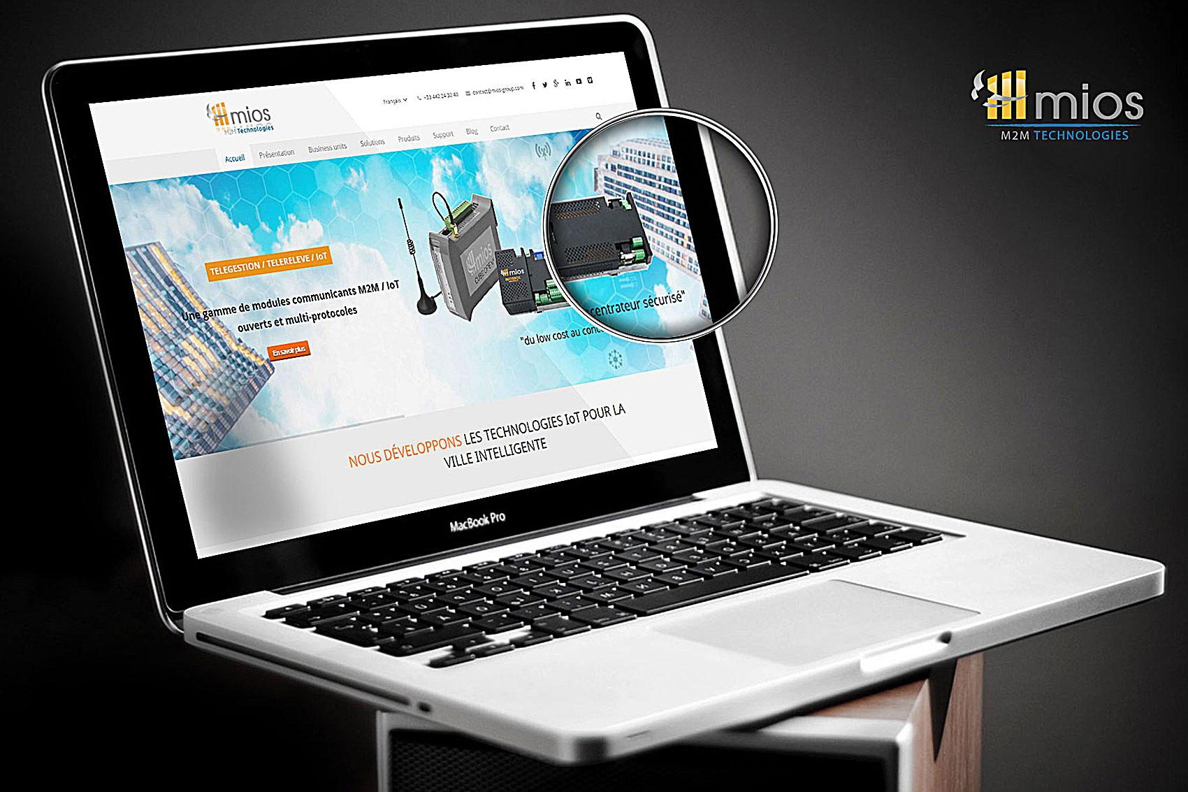 Création du site web MIOS