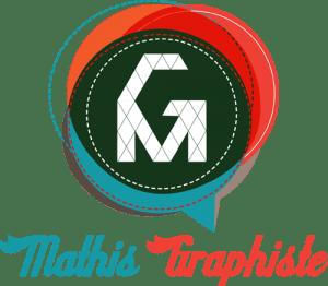 Logo du site web de Mathis Graphiste